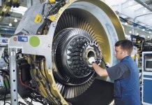 CFM56-7 engine