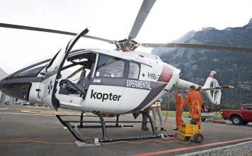 Kopter Group P3 prototype