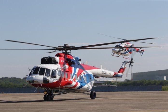 Ansat and Mi-171A2