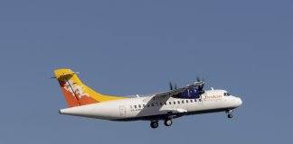 Drukair takes delivery of ATR 42-600