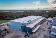 MTU's new logistics center at its Ludwigsfelde site