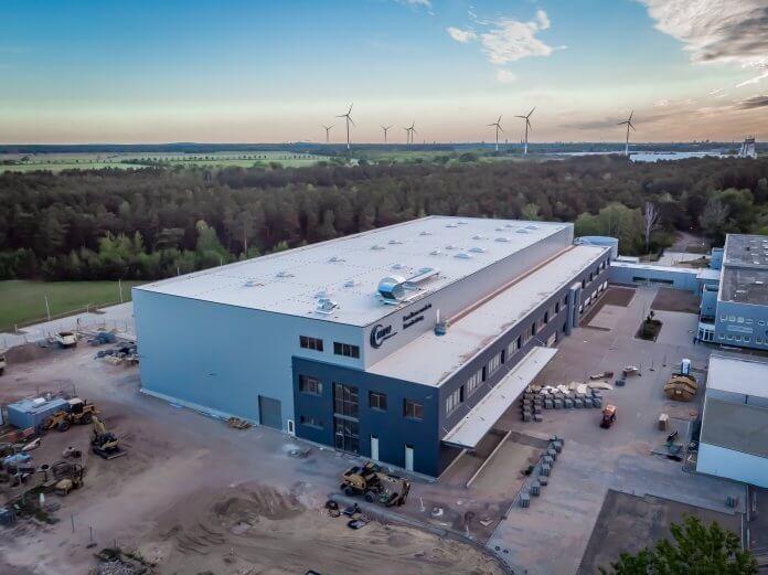 MTU's new logistics center at its Ludwigsfelde site