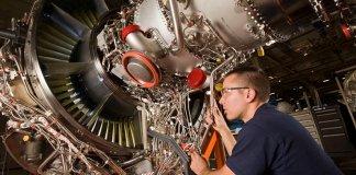 P&W Shanghai V2500 engine repairs.