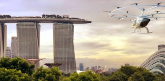 Volocopter plans flight trials in Singapore in the second half of 2019.